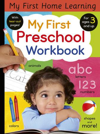 My First Preschool Workbook by Lauren Crisp