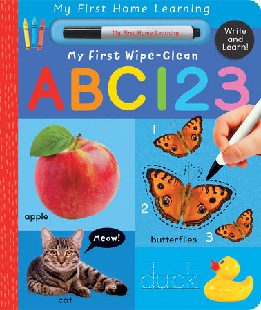 My First Wipe-Clean ABC 123