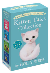 Pet Rescue Adventures Kitten Tales Collection: Purr-fect 4 Book Set