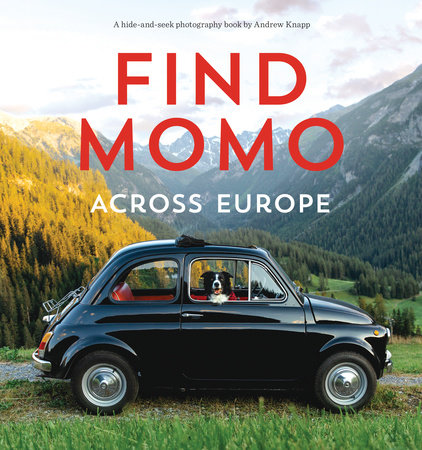 Find Momo across Europe by Andrew Knapp