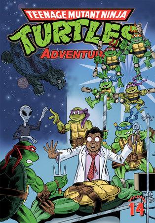 Teenage Mutant Ninja Turtles Adventures Volume 14 by Dean Clarrain