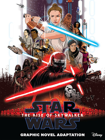 Star Wars: The Rise of Skywalker Graphic Novel Adaptation by Alessandro Ferrari