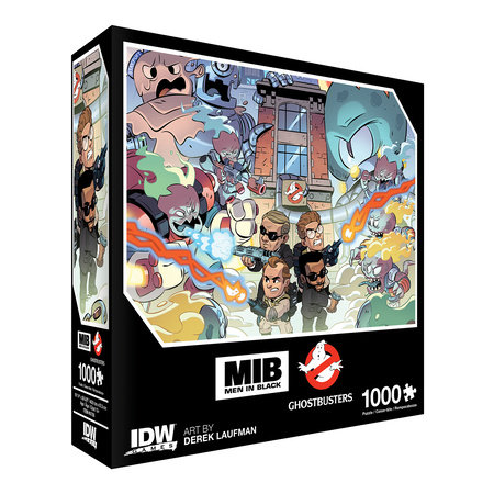 Men In Black/Ghostbusters: Ecto-terrestrial Invasion Premium Puzzle (1000-pc) by