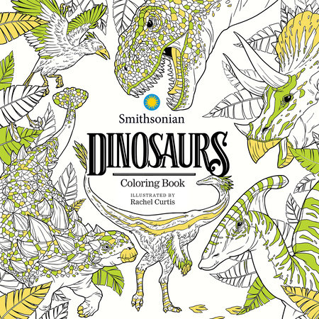 Dinosaurs: A Smithsonian Coloring Book by