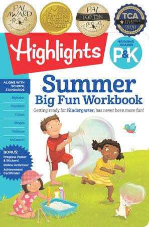 Summer Big Fun Workbook Bridging Grades P & K by Highlights Learning