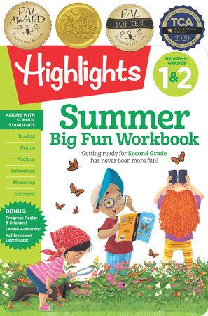 Summer Big Fun Workbook Bridging Grades 1 & 2 by Highlights Learning