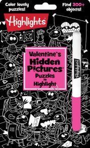 Valentine's Hidden Pictures® Puzzles to Highlight