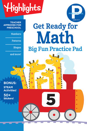 Preschool Get Ready for Math Big Fun Practice Pad by