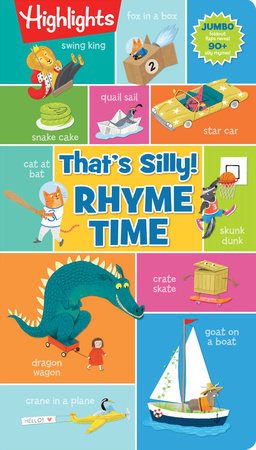 That's Silly!(TM) Rhyme Time by Highlights