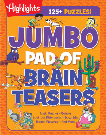 Jumbo Pad of Brain Teasers by