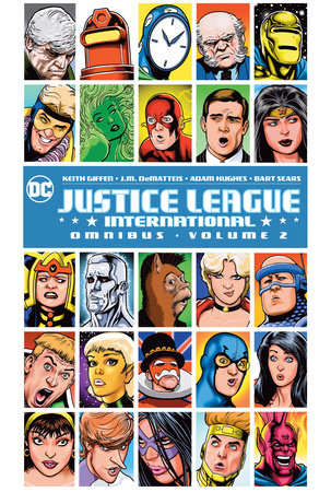 Justice League International Omnibus Vol. 2 by J.M. Dematteis