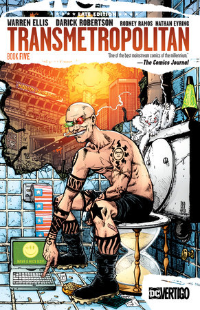 Transmetropolitan Book Five by Warren Ellis