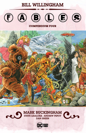 Fables Compendium Four by Bill Willingham