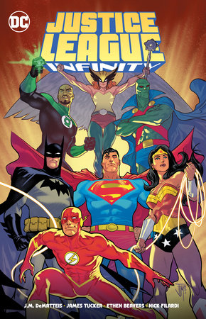 Justice League Infinity by J.M. Dematteis