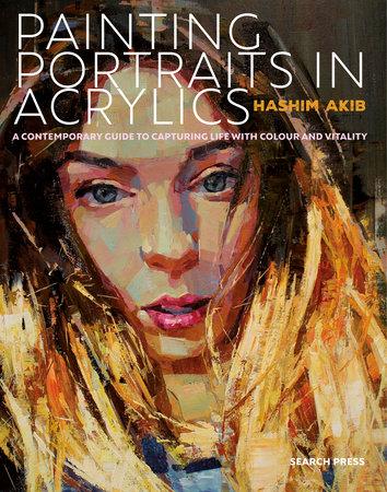 Painting Portraits in Acrylic by Hashim Akib
