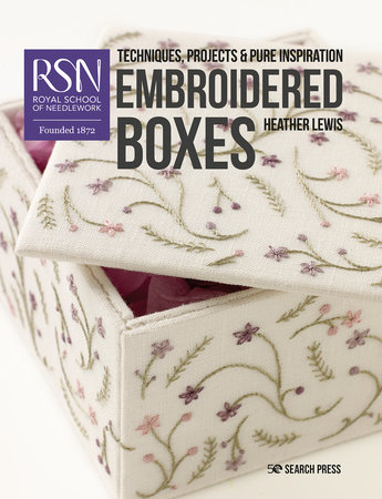 RSN: Embroidered Boxes by Heather Lewis
