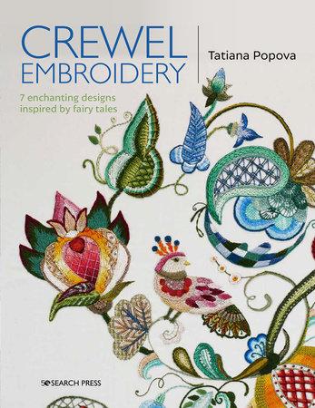 Crewel Embroidery by Tatiana Popova