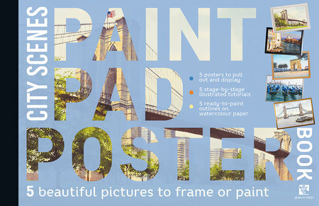 Paint Pad Poster Book: City Scenes by Various
