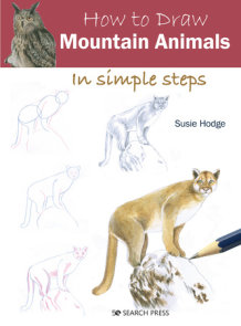 How to Draw: Mountain Animals in simple steps