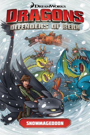 Dragons Defenders of Berk: Snowmageddon by Written by Furman, with art by Iwan Nazif and Jack Lawrence