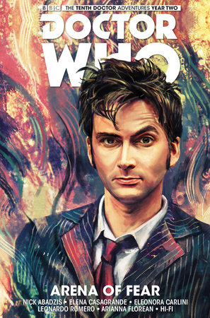 Doctor Who: The Tenth Doctor Vol. 5: Arena of Fear by Nick Abadzis