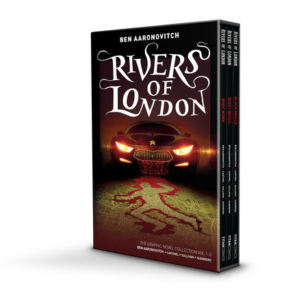 Rivers of London Volumes 1-3 Boxed Set Edition by Ben Aaronovitch and Andrew Cartmel