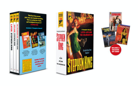 Hard Case Crime Stephen King Triple Collection Slipcase by Stephen King