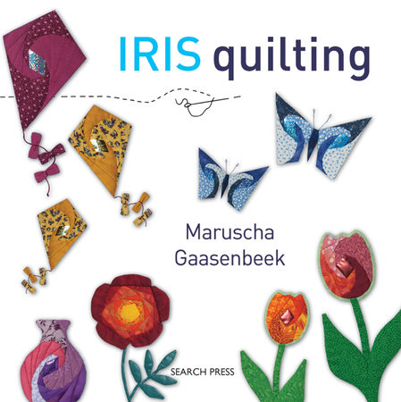 Iris Quilting by Maruscha Gaasenbeek