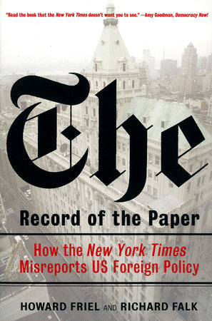 The Record of the Paper by Richard Falk and Howard Friel
