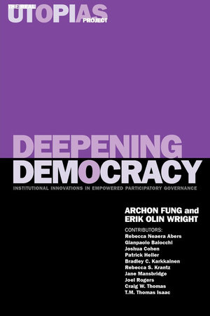 Deepening Democracy by