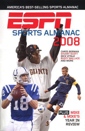 ESPN Sports Almanac 2008 by Mike Morrison and Gerry Brown