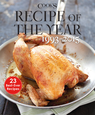Recipe of the Year 1993-2015 by