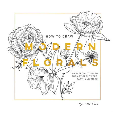 How To Draw Modern Florals by