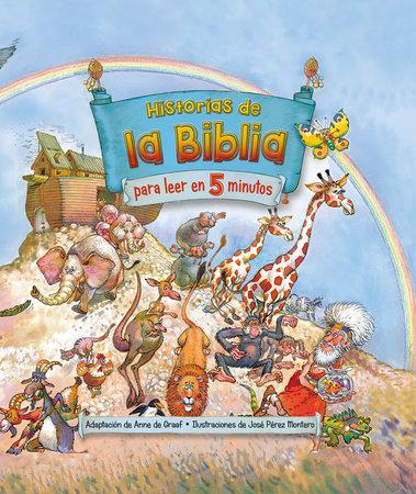 Historias de la Biblia para leer en 5 minutos / The Little Childrens Bible StoryBook