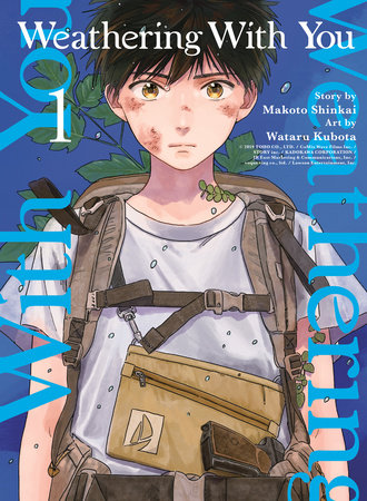 Weathering With You, volume 1 by Makoto Shinkai