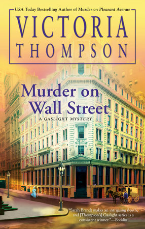 Murder on Wall Street by Victoria Thompson