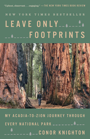 Leave Only Footprints by Conor Knighton