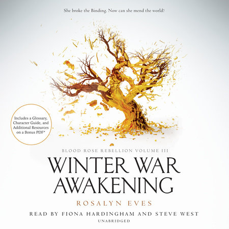 Winter War Awakening (Blood Rose Rebellion, Book 3) by Rosalyn Eves