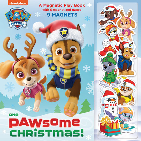 One Paw-some Christmas: A Magnetic Play Book (PAW Patrol) by Random House