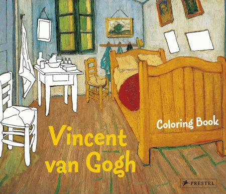 Coloring Book Vincent Van Gogh by Annette Roeder