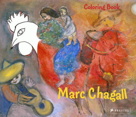 Coloring Book Chagall by Annette Roeder