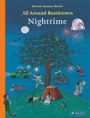 All Around Bustletown: Nighttime by Rotraut Susanne Berner