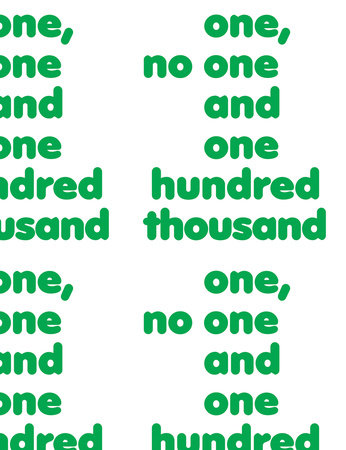 One, No One and One Hundred Thousand by