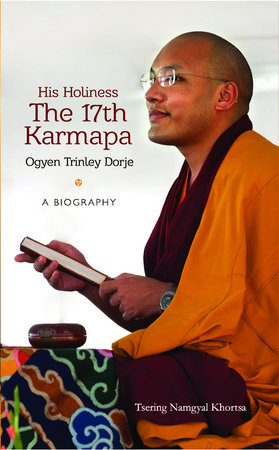 His Holiness The 17th Karmapa Ogyen Trinley Dorje by Tsering Namgyal Khortsa